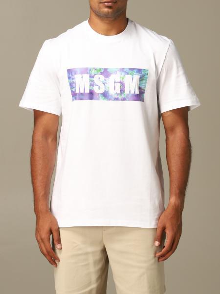 T-shirt herren Msgm