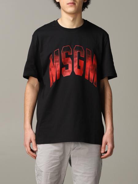 T-shirt uomo Msgm