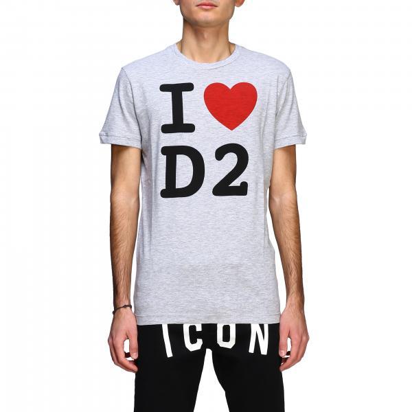 T-shirt Dsquared2 a maniche corte con big logo