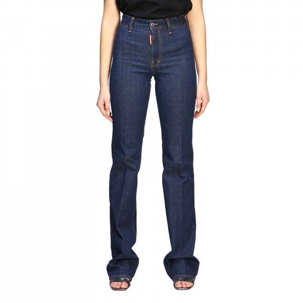 Jeans Dsquared2 a gamba dritta
