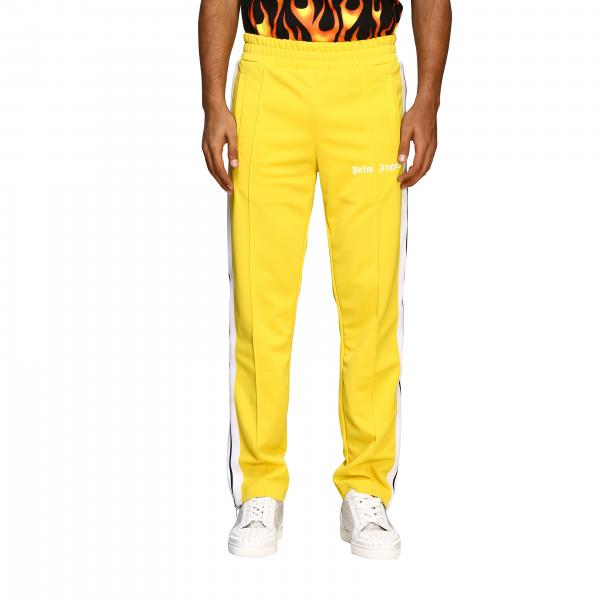 Pantalone Palm Angels con logo e bande a righe