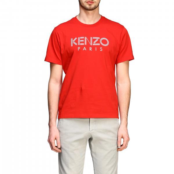 Kenzo short-sleeved T-shirt with Kenzo Paris print