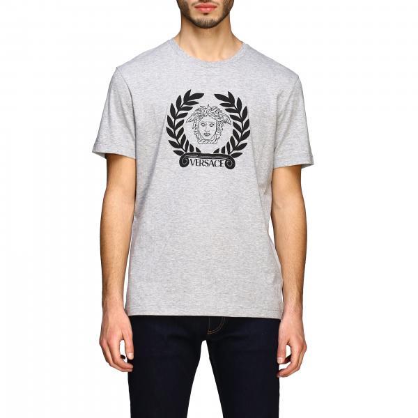 Versace short-sleeved T-shirt with jellyfish head