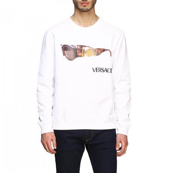 Versace crewneck sweatshirt with glasses print