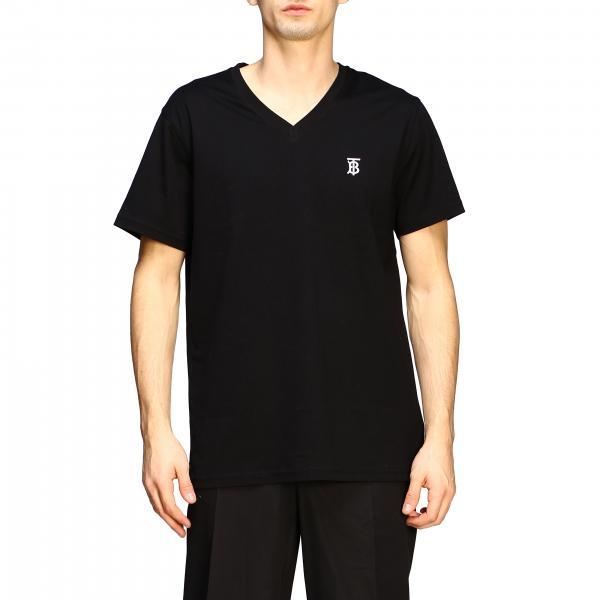 T-shirt Burberry con logo TB a maniche corte