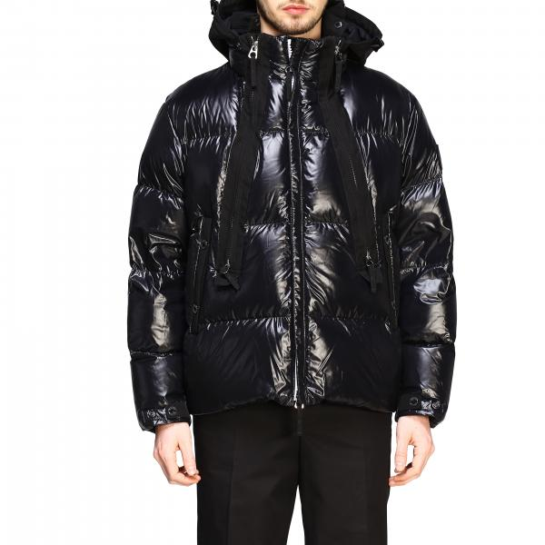 Burberry quilted jacket in shiny nylon and padded with hood