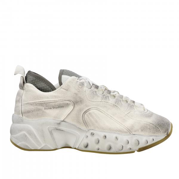 Sneakers Acne Studios in pelle con effetto sporco