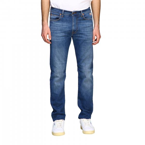 Jeans Roy Rogers in denim used a vita regolare