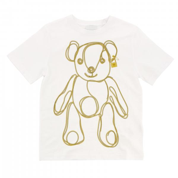 T-shirt Burberry a maniche corte con stampa orsetto