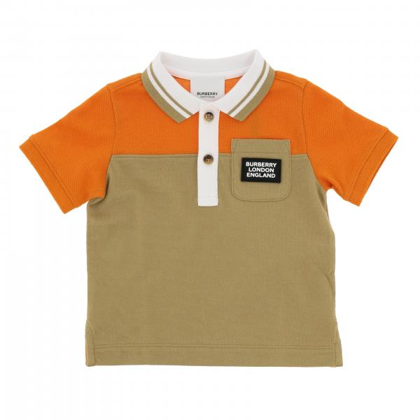Polo Burberry Infant a maniche corte con logo