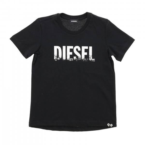 Diesel short-sleeved T-shirt with logo