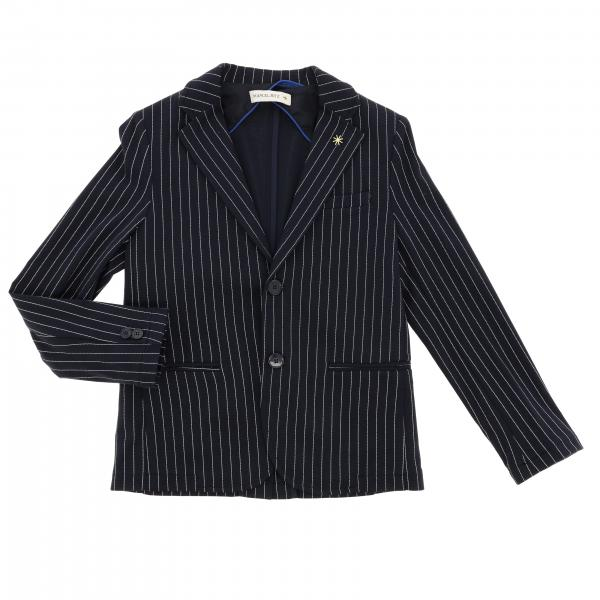 Single breasted pinstripe Manuel Ritz jacket