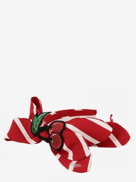 Serre-tête Monnalisa avec maxi noeud et cerises