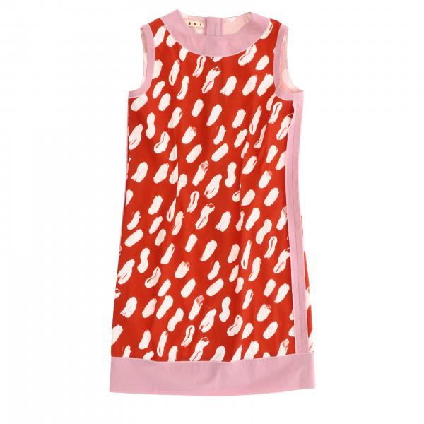 Платье с принтом Детское Marni