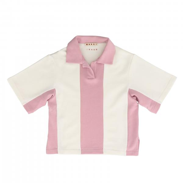 Marni short-sleeved shirt with collar