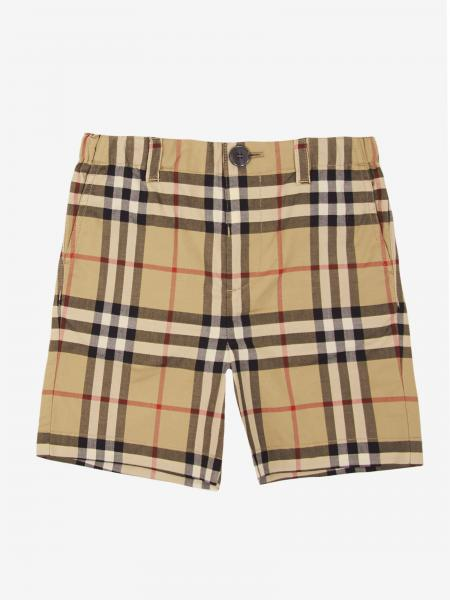 Burberry 格纹短裤