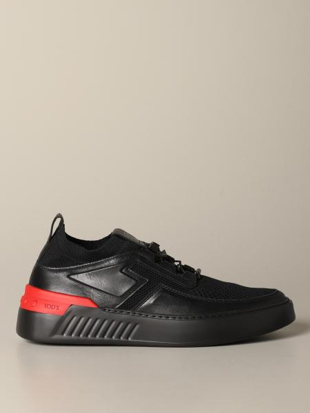 Tod's No code sneakers in leather and mesh