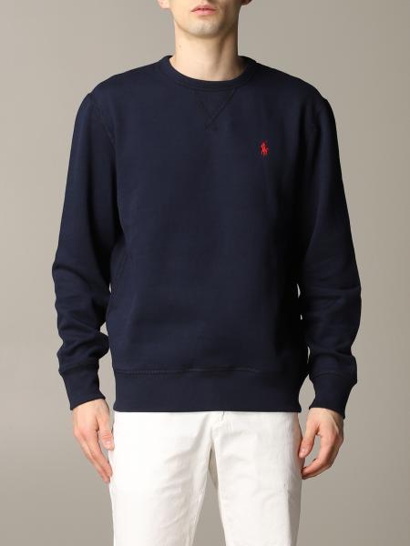 Felpa Polo Ralph Lauren basic con logo ricamato