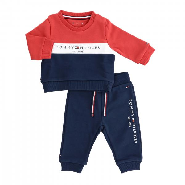 Tommy Hilfiger sweatshirt + tracksuit with logo set