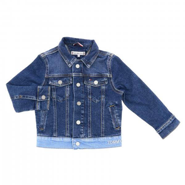 Giacca di jeans Tommy Hilfiger in denim patchwork
