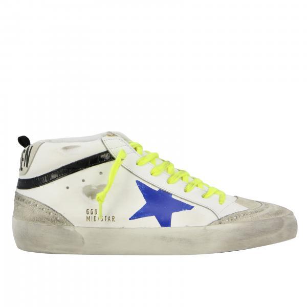 Golden Goose Leder Sneakers mit Stern