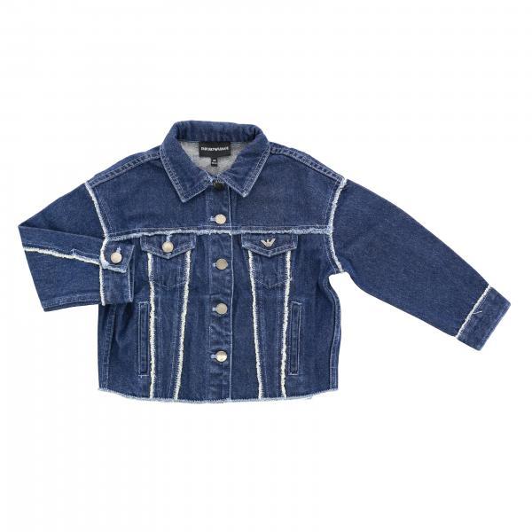 Emporio Armani denim jacket with back lettering
