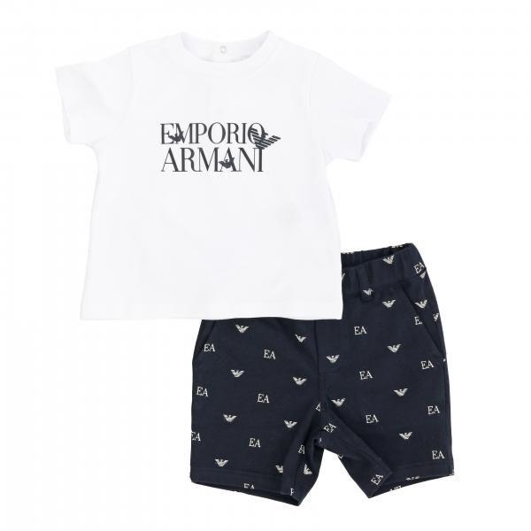 Ensemble T-shirt + short Emporio Armani