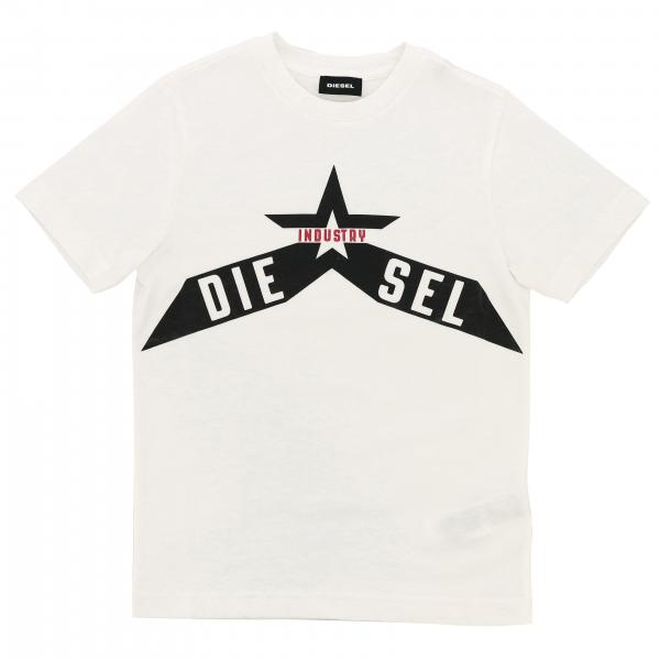 Diesel short-sleeved T-shirt with logo print