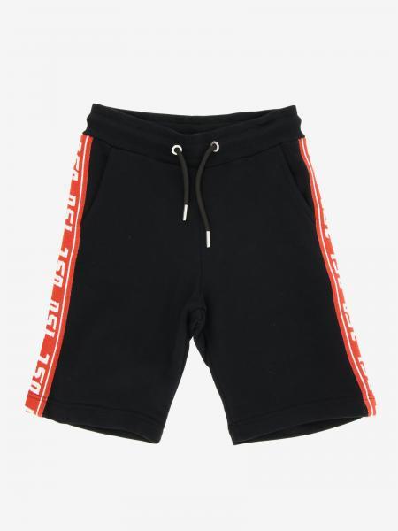 Diesel logo 运动短裤