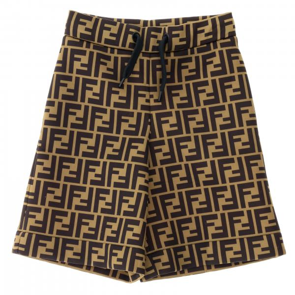 Fendi jogging shorts with all over FF monogram