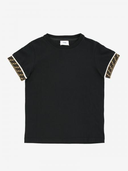 Fendi t-shirt with logoed edges