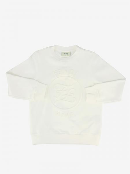 Fendi crewneck sweatshirt with logo