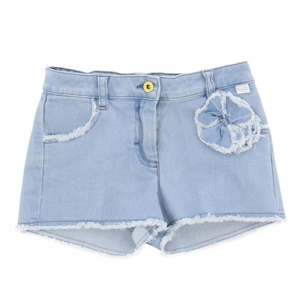 Il Gufo shorts with flower
