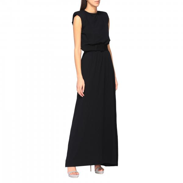 Federica Tosi long dress with belt
