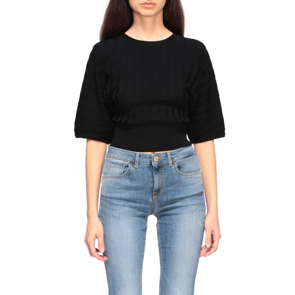 Top Pinko cropped a coste