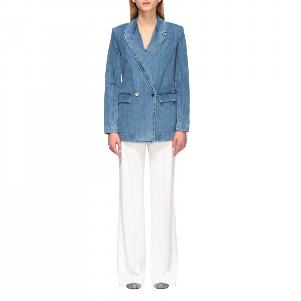 Blazer Jane 1 Pinko Jean a doppiopetto in denim