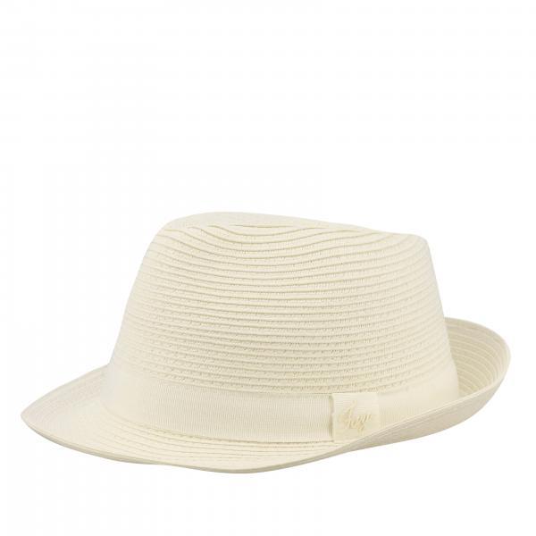Cappello Fay di paglia con fettuccia
