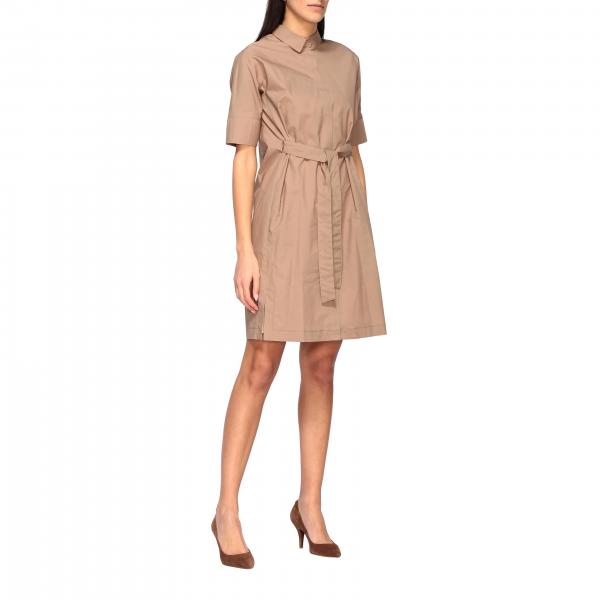 Fabiana Filippi dress with collar and belt
