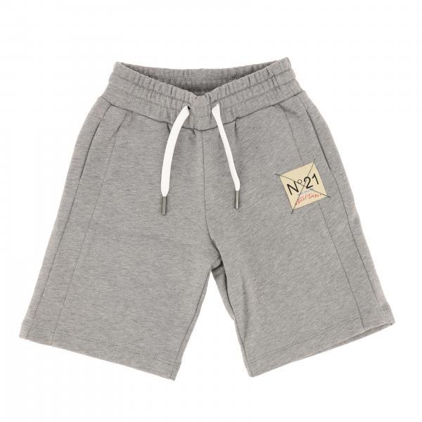 Pantaloncino N° 21 con coulisse e logo