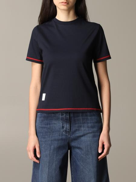 Thom Browne T-shirt with colored edges