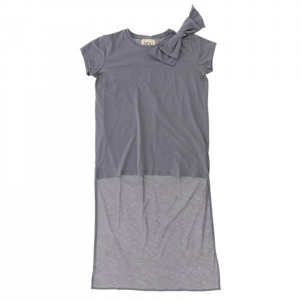 T-shirt Douuod a maniche corte con fiocco