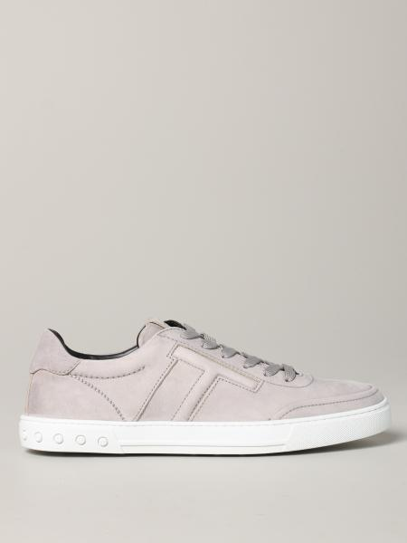 Sneakers Tod's in nabuk con maxi T