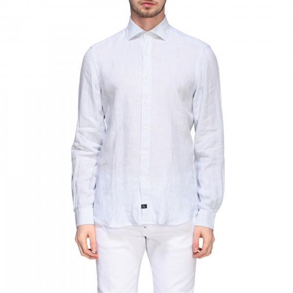 Camicia Fay classica con collo francese