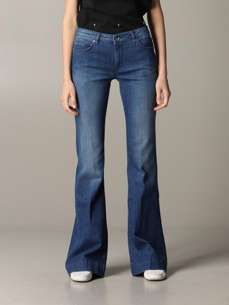 Jeans Fay in denim a zampa