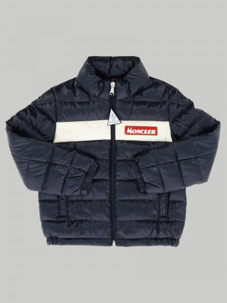 Moncler padded jacket with band and logo