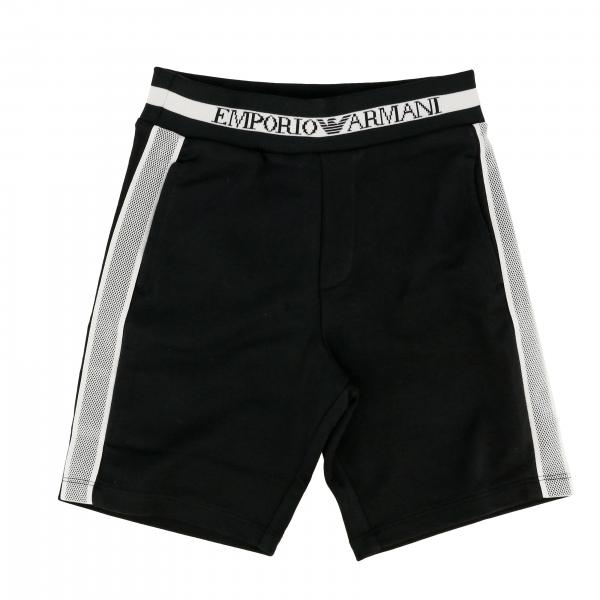 Emporio Armani shorts with bands and logo
