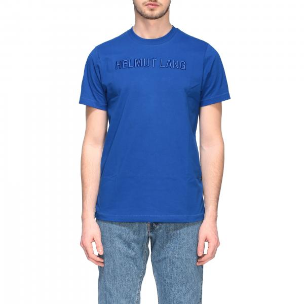 T-shirt Helmut Lang a girocollo con logo