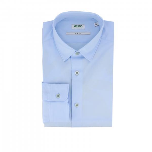 Classic Kenzo shirt with Italian collar