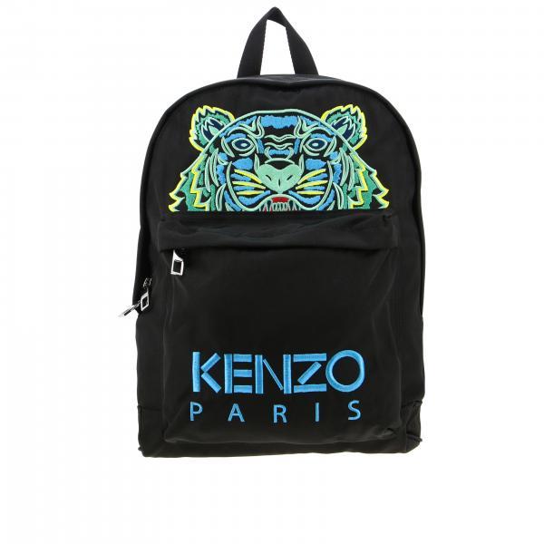 Kenzo Nylon Rucksack mit Tiger Kenzo Paris Logo