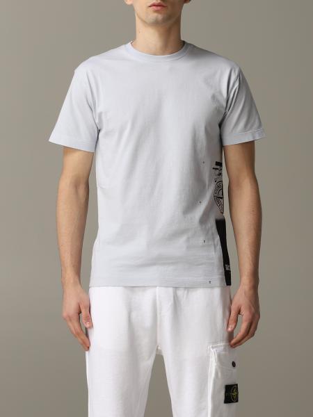 T-shirt Stone Island a maniche corte con logo